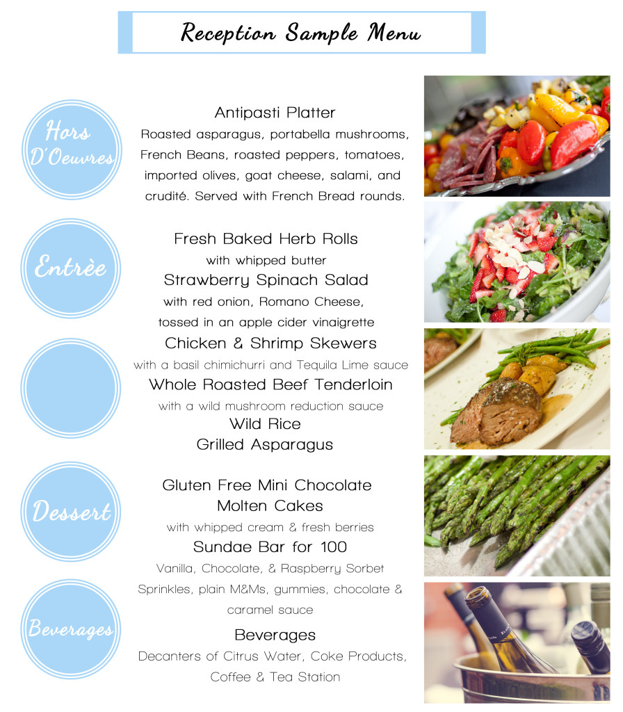 Wedding Food List Kozen Jasonkellyphoto Co